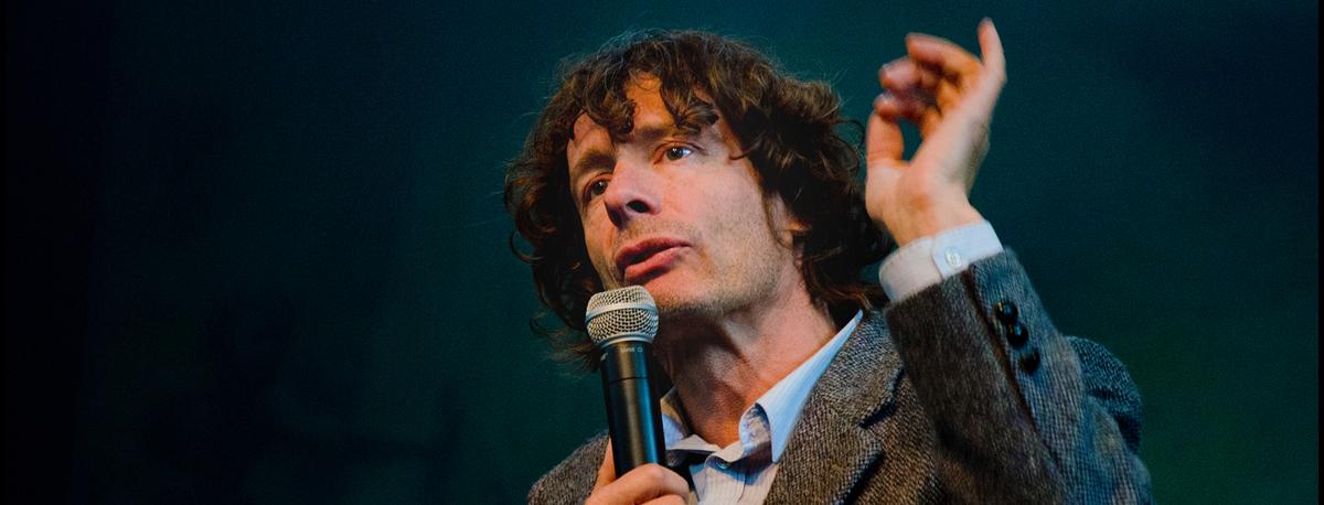 Beestenboel, een lezing door Dirk Draulans